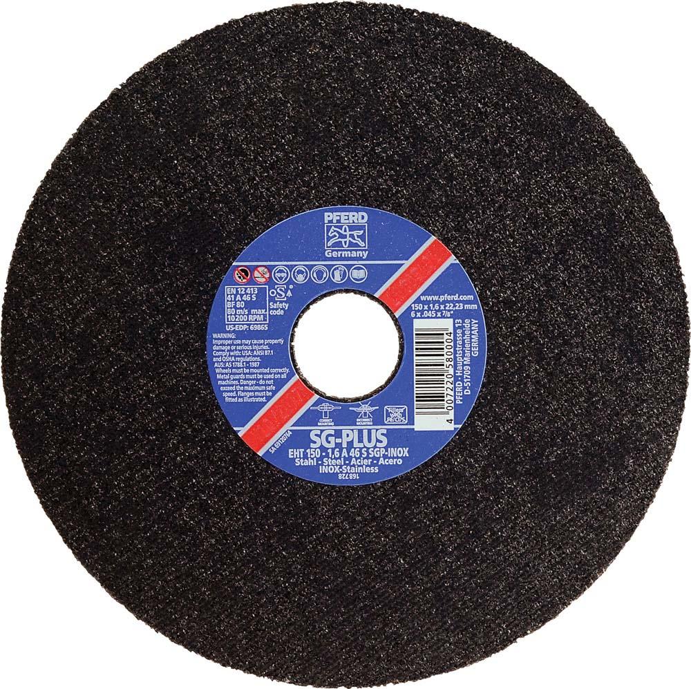 "Type 1 A 60 Grit Osborn Cut Off Disc 6/"" x 0.045/"" x 7//8/"""