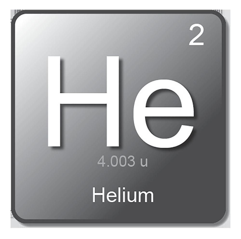 Gas Symbol Helium 02052020