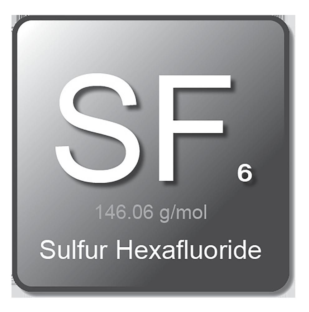 Gas Symbol Sulferhexafluoride 02052020